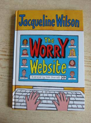 Photo of THE WORRY WEBSITE written by Wilson, Jacqueline illustrated by Sharratt, Nick published by Doubleday (STOCK CODE: 734855)  for sale by Stella & Rose's Books