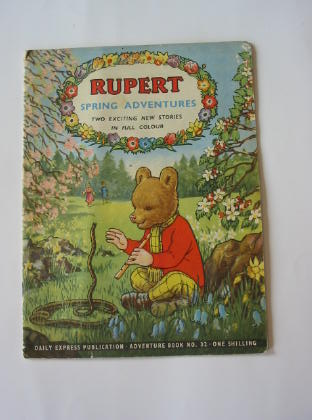 Photo of RUPERT ADVENTURE BOOK No. 32 - SPRING ADVENTURES written by Bestall, Alfred published by Daily Express (STOCK CODE: 739648)  for sale by Stella & Rose's Books