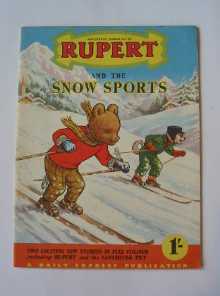 Photo of RUPERT ADVENTURE SERIES No. 23 - RUPERT AND THE SNOW SPORTS written by Bestall, Alfred published by Daily Express (STOCK CODE: 739972)  for sale by Stella & Rose's Books