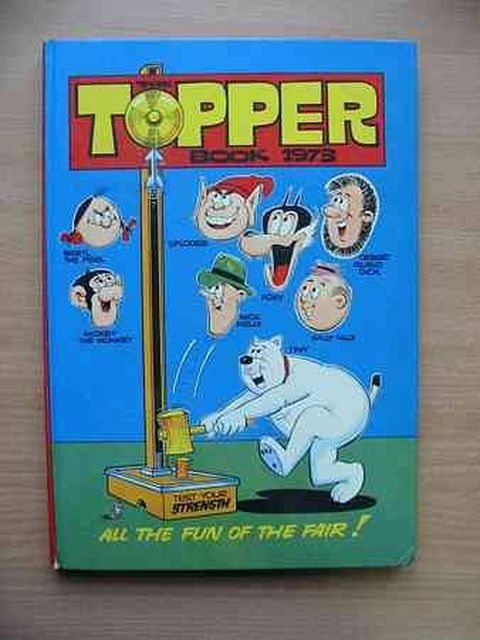 Photo of THE TOPPER BOOK 1973- Stock Number: 805207