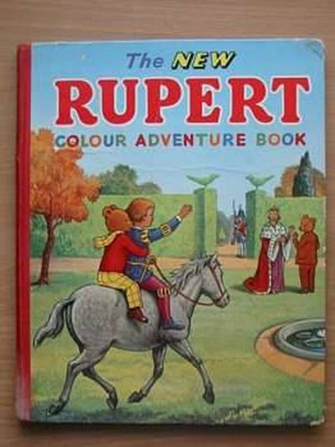 Photo of THE NEW RUPERT COLOUR ADVENTURE BOOK- Stock Number: 805289