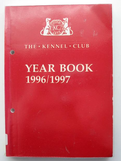 Photo of THE KENNEL CLUB YEAR BOOK 1996/1997- Stock Number: 806116