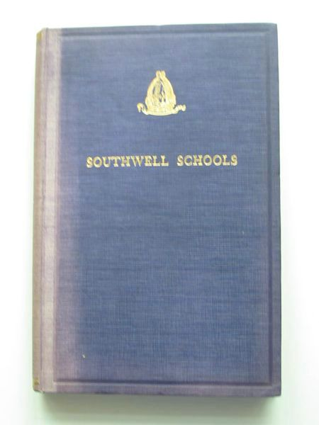 Photo of AN ACCOUNT OF THE GRAMMAR AND SONG SCHOOLS OF THE COLLEGIATE CHURCH OF BLESSED MARY THE VIRGIN OF SOUTHWELL written by James, W.A. published by J.W. Ruddock (STOCK CODE: 806800)  for sale by Stella & Rose's Books