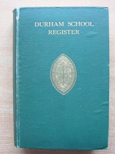 Photo of DURHAM SCHOOL REGISTER TO 1912- Stock Number: 807683