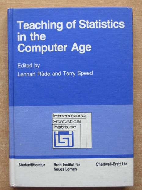 Photo of TEACHING OF STATISTICS IN THE COMPUTER AGE written by Rade, Lennart Speed, Terry published by Chartwell-Bratt (STOCK CODE: 807717)  for sale by Stella & Rose's Books