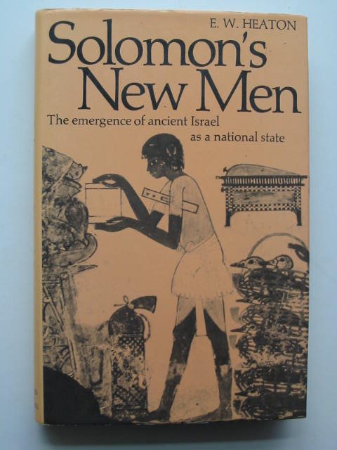 Photo of SOLOMON'S NEW MEN written by Heaton, E.W. published by Thames and Hudson (STOCK CODE: 808134)  for sale by Stella & Rose's Books