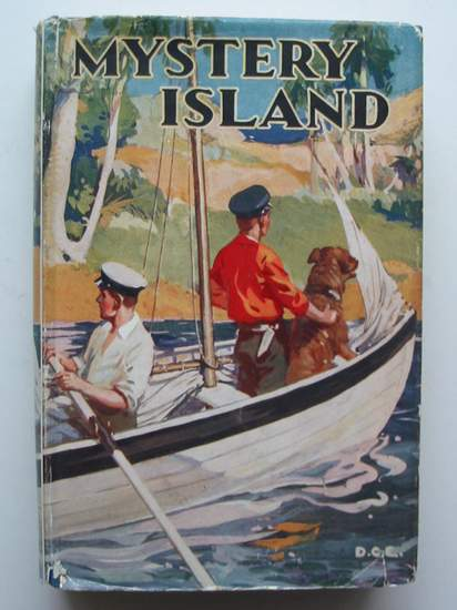 Photo of MYSTERY ISLAND written by Westerman, Percy F. illustrated by Lumley, Savile published by Humphrey Milford, Oxford University Press (STOCK CODE: 808320)  for sale by Stella & Rose's Books