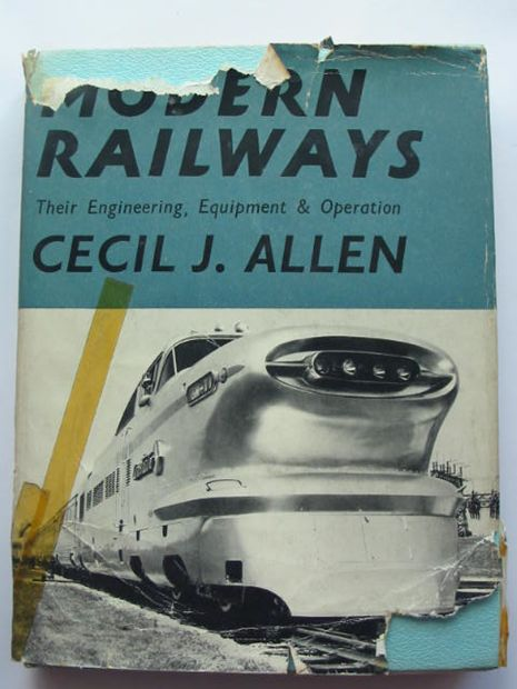 Photo of MODERN RAILWAYS written by Allen, Cecil J. published by Faber & Faber (STOCK CODE: 808830)  for sale by Stella & Rose's Books