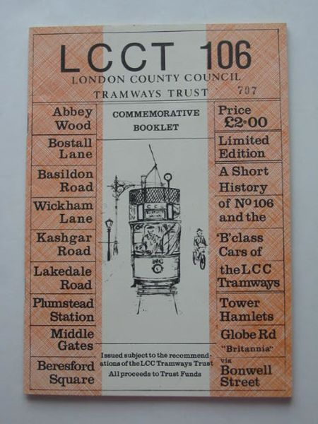 Photo of LONDON COUNTY COUNCIL TRAMWAYS- Stock Number: 809046
