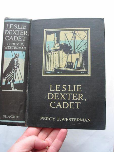 Photo of LESLIE DEXTER CADET written by Westerman, Percy F. illustrated by Hepple, Norman published by Blackie & Son Ltd. (STOCK CODE: 809165)  for sale by Stella & Rose's Books