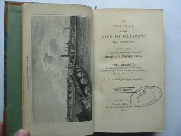 Photo of THE HISTORY OF THE CITY OF GLASGOW AND SUBURBS written by Denholm, James published by A. Macgoun (STOCK CODE: 809854)  for sale by Stella & Rose's Books