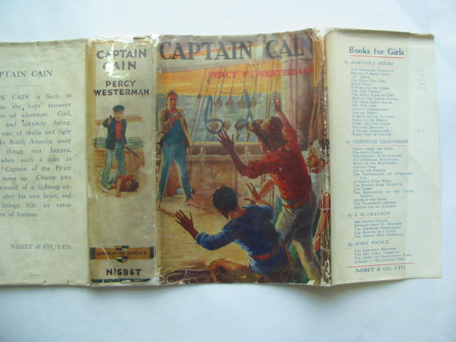 Photo of CAPTAIN CAIN written by Westerman, Percy F. published by Nisbet & Co. Ltd. (STOCK CODE: 810259)  for sale by Stella & Rose's Books