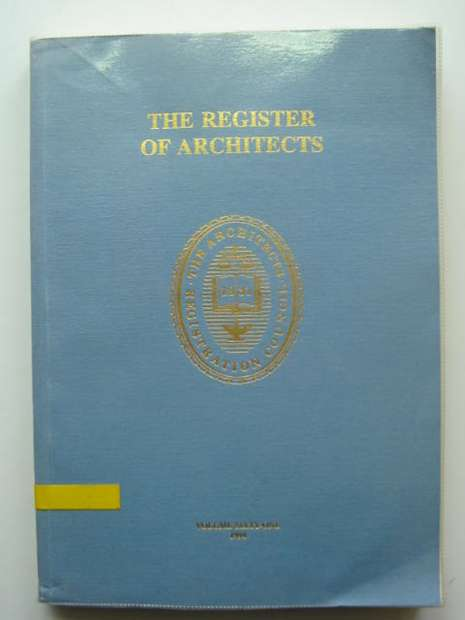 Photo of THE REGISTER OF ARCHITECTS 1994 published by The Royal Institute of British Architects (STOCK CODE: 810379)  for sale by Stella & Rose's Books