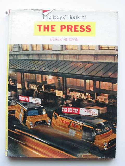 Photo of THE BOYS' BOOK OF THE PRESS- Stock Number: 811013