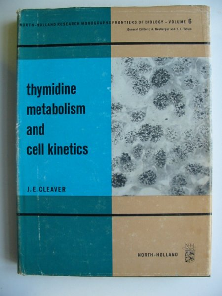 Photo of THYMIDINE METABOLISM AND CELL KINETICS- Stock Number: 811264