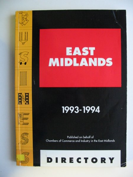 Photo of EAST MIDLANDS BUSINESS DIRECTORY 1993-1994 published by Guardian Communications (STOCK CODE: 811282)  for sale by Stella & Rose's Books