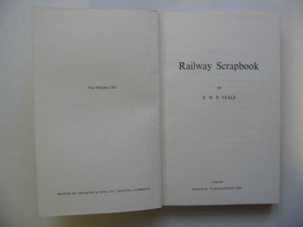 Photo of RAILWAY SCRAP BOOK- Stock Number: 811286