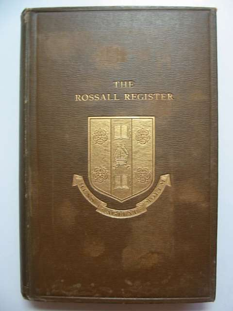 Photo of THE ROSSALL REGISTER 1844-1894 written by Ashworth, T.W. published by Geo. Falkner & Sons (STOCK CODE: 812131)  for sale by Stella & Rose's Books