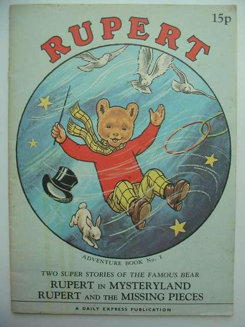 Photo of RUPERT ADVENTURE BOOK NO. 1- Stock Number: 812435