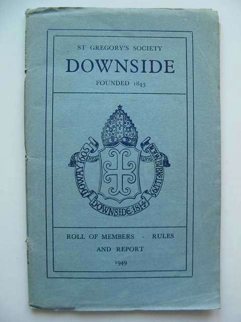Photo of ST GREGORY'S SOCIETY DOWNSIDE ROLL OF MEMBERS- Stock Number: 812667