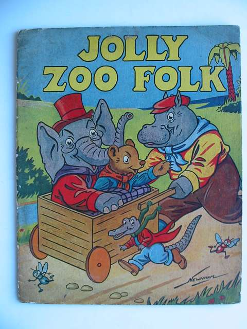Photo of JOLLY ZOO FOLK illustrated by Newnham,  published by S. Guiterman & Co. Ltd. (STOCK CODE: 813378)  for sale by Stella & Rose's Books