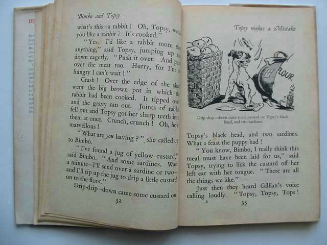 Photo of BIMBO AND TOPSY written by Blyton, Enid illustrated by Gee, Lucy published by George Newnes Ltd. (STOCK CODE: 813620)  for sale by Stella & Rose's Books