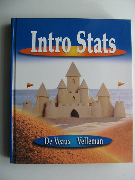 Photo of INTRO STATS written by De Veaux, Richard D. Velleman, Paul F. published by Pearson, Addison-Wesley (STOCK CODE: 813724)  for sale by Stella & Rose's Books
