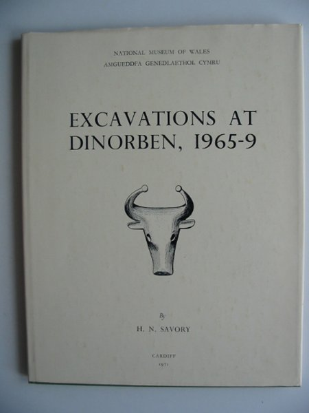 Photo of EXCAVATIONS AT DINORBEN 1965-9 written by Savory, Hubert N. published by National Museum of Wales (STOCK CODE: 814092)  for sale by Stella & Rose's Books