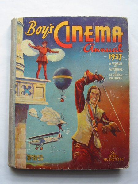 Photo of BOY'S CINEMA ANNUAL 1937 published by The Amalgamated Press (STOCK CODE: 814393)  for sale by Stella & Rose's Books