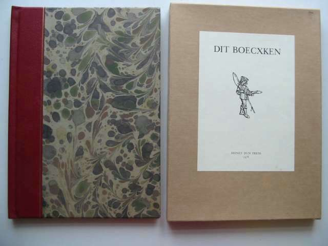 Photo of DIT BOECXKEN written by Van Der Goes, Matthias published by Honey Dun Press (STOCK CODE: 814701)  for sale by Stella & Rose's Books