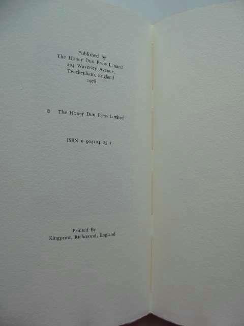 Photo of DIT BOECXKEN written by Van Der Goes, Matthias published by Honey Dun Press (STOCK CODE: 814701)  for sale by Stella & Rose's Books