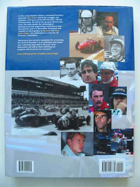 Photo of AUTOCOURSE 50 YEARS OF WORLD CHAMPIONSHIP GRAND PRIX MOTOR RACING written by Henry, Alan published by Hazleton Publishing (STOCK CODE: 815722)  for sale by Stella & Rose's Books