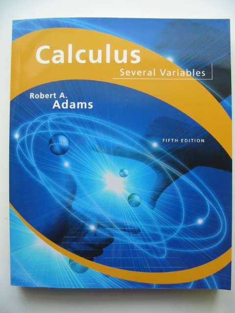 Photo of CALCULUS SEVERAL VARIABLES written by Adams, Robert A. published by Addison-Wesley Longman (STOCK CODE: 815885)  for sale by Stella & Rose's Books