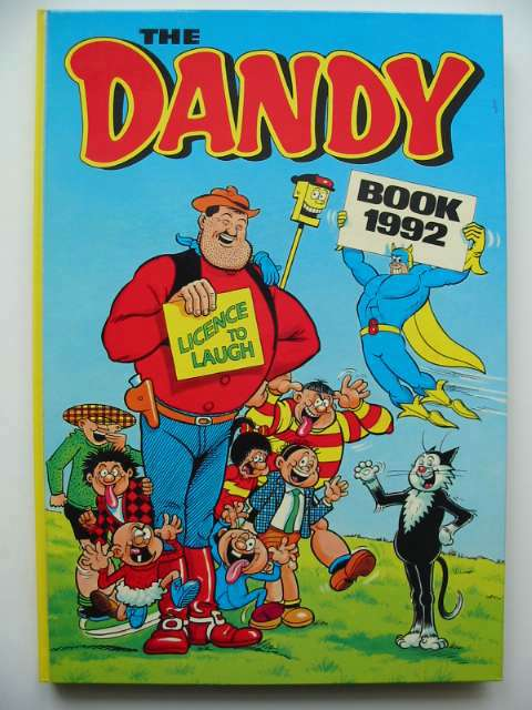 Photo of THE DANDY BOOK 1992 published by D.C. Thomson & Co Ltd. (STOCK CODE: 816167)  for sale by Stella & Rose's Books