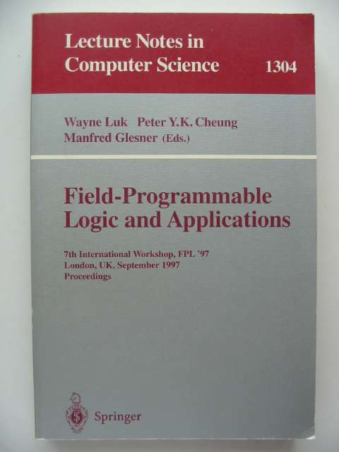 Photo of FIELD-PROGRAMMABLE LOGIC AND APPLICATIONS- Stock Number: 816892