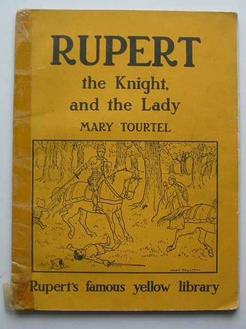 Photo of RUPERT THE KNIGHT AND THE LADY written by Tourtel, Mary published by Sampson Low, Marston & Co. Ltd. (STOCK CODE: 817035)  for sale by Stella & Rose's Books