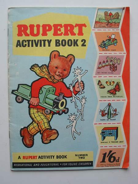 Photo of RUPERT ACTIVITY BOOK 2- Stock Number: 817042