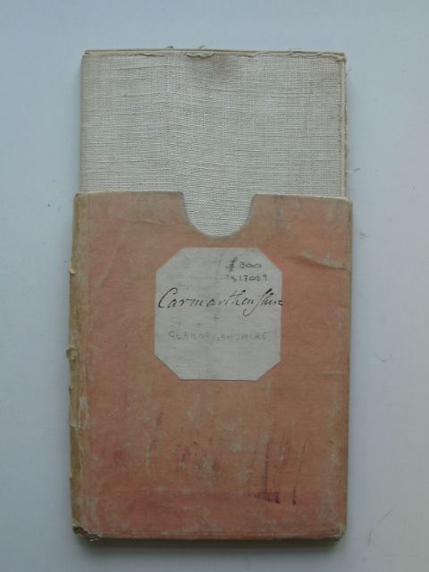 Photo of AN ACCURATE MAP OF CARMARTHENSHIRE AND GLAMORGANSHIRE written by Kitchin, Thomas published by Carington Bowles (STOCK CODE: 817059)  for sale by Stella & Rose's Books