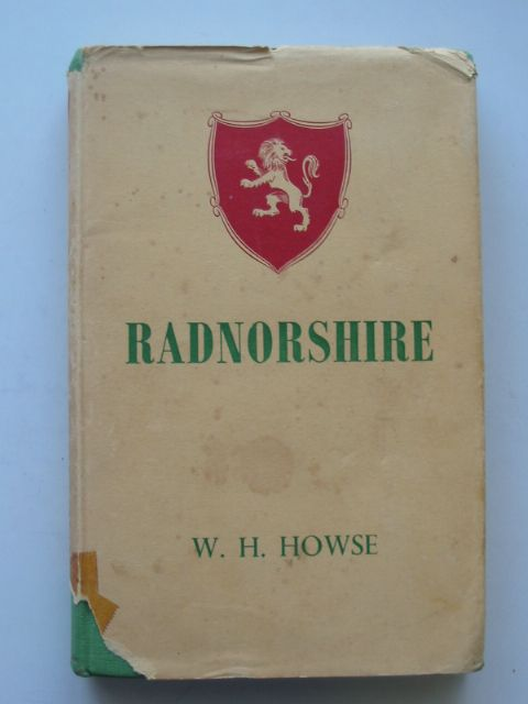 Photo of RADNORSHIRE written by Howse, W.H. published by E.J. Thurston (STOCK CODE: 817223)  for sale by Stella & Rose's Books
