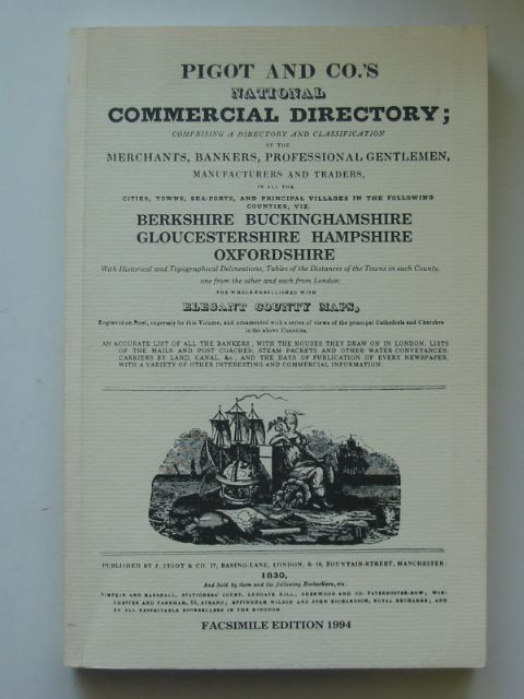 Photo of NATIONAL COMMERCIAL DIRECTORY BERKSHIRE, BUCKINGHAMSHIRE, GLOUCESTERSHIRE, HAMPSHIRE, OXFORDSHIRE- Stock Number: 817232