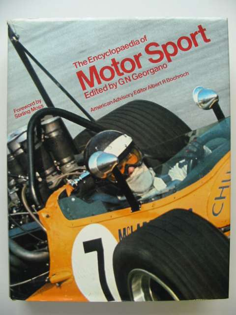 Photo of THE ENCYCLOPAEDIA OF MOTOR SPORT written by Georgano, G.N. published by Ebury Press, Michael Joseph (STOCK CODE: 817462)  for sale by Stella & Rose's Books