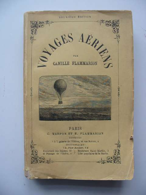 Photo of VOYAGES AERIENS written by Flammarion, Camille (STOCK CODE: 818628)  for sale by Stella & Rose's Books