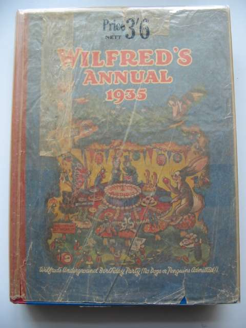 Photo of WILFRED'S ANNUAL 1935 illustrated by Beaman, S.G. Hulme et al.,  published by Daily Mirror (STOCK CODE: 819216)  for sale by Stella & Rose's Books