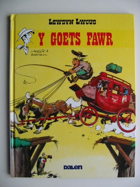 Photo of LEWSYN LWCUS: Y GOETS FAWR written by Goscinny, Rene<br />Jones, Dafydd<br />Jones, Alun Ceri illustrated by Morris,  published by Dalen (STOCK CODE: 819581)  for sale by Stella & Rose's Books