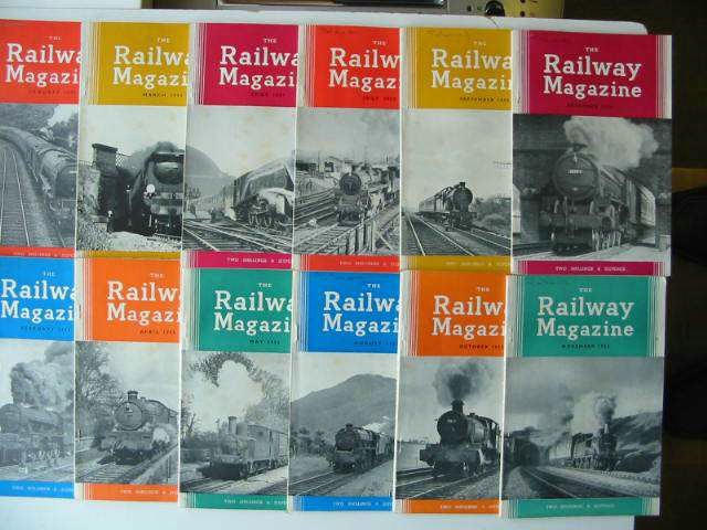 Photo of THE RAILWAY MAGAZINE VOL 101- Stock Number: 819680