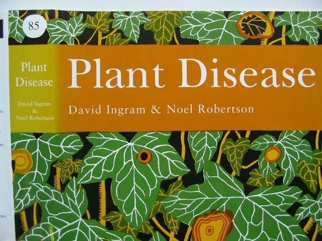Photo of PLANT DISEASE A NATURAL HISTORY (NN 85) written by Ingram, David