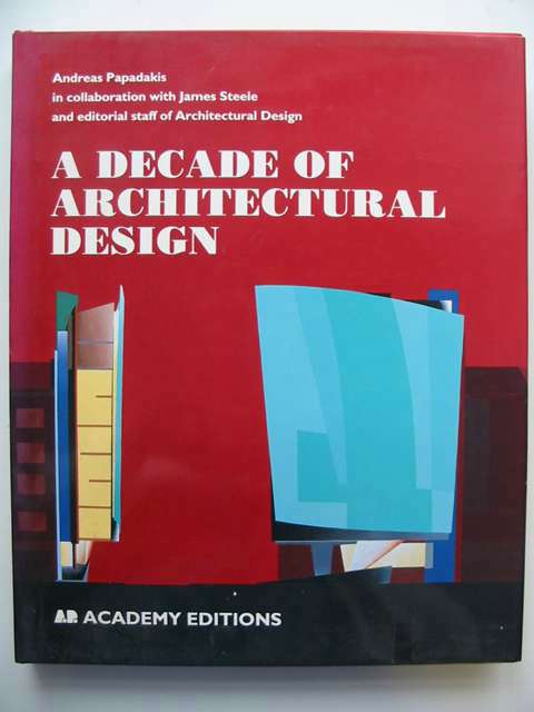 Photo of A DECADE OF ARCHITECTURAL DESIGN- Stock Number: 820231