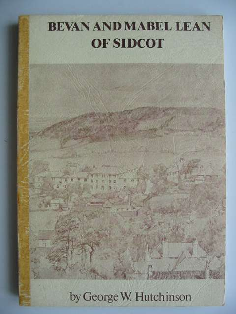 Photo of BEVAN AND MABEL LEAN OF SIDCOT- Stock Number: 820316