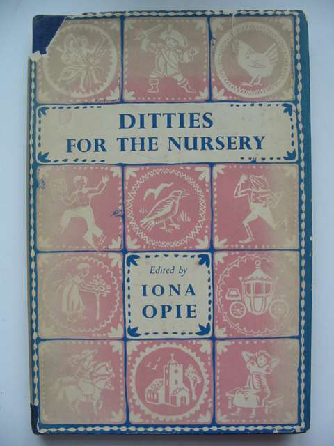 Photo of DITTIES FOR THE NURSERY written by Opie, Iona illustrated by Walker, Monica published by Oxford University Press (STOCK CODE: 820373)  for sale by Stella & Rose's Books
