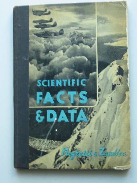 Photo of SCIENTIFIC FACTS & DATA published by Negretti & Zambra (STOCK CODE: 820636)  for sale by Stella & Rose's Books